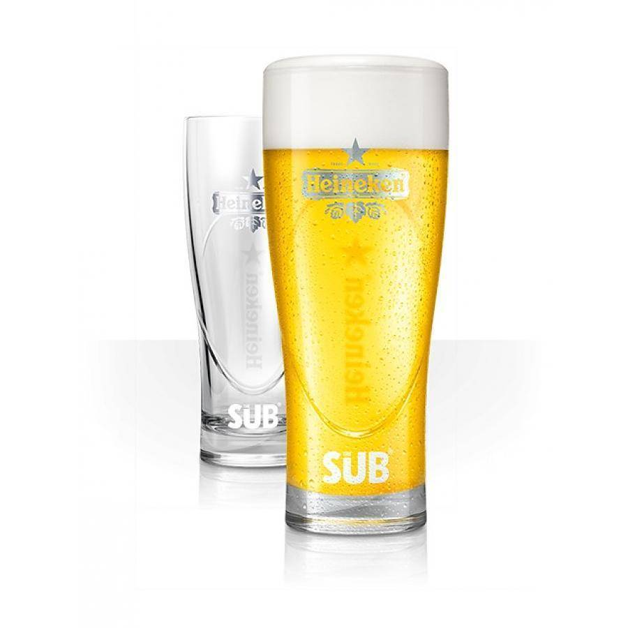 Heineken Ellipse Glasses (6 PCS)