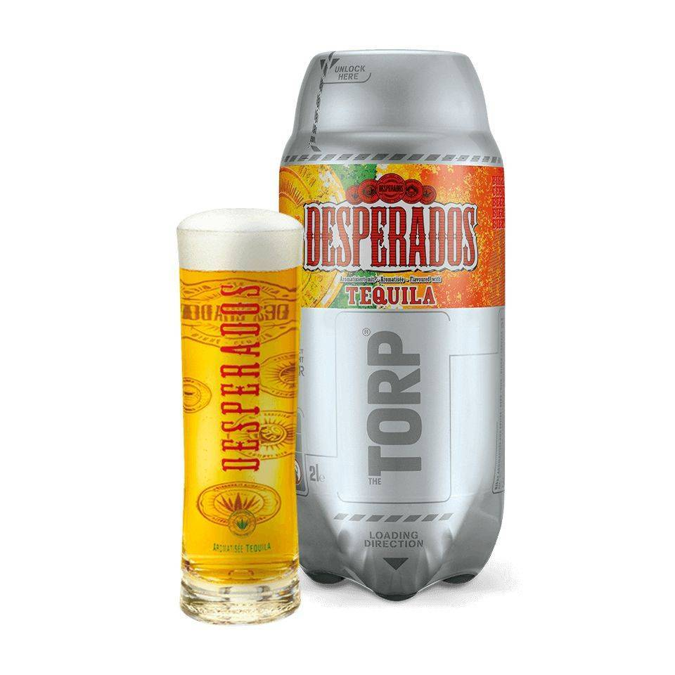 Desperados Torp Desperados Spanish Beer The Sub Global