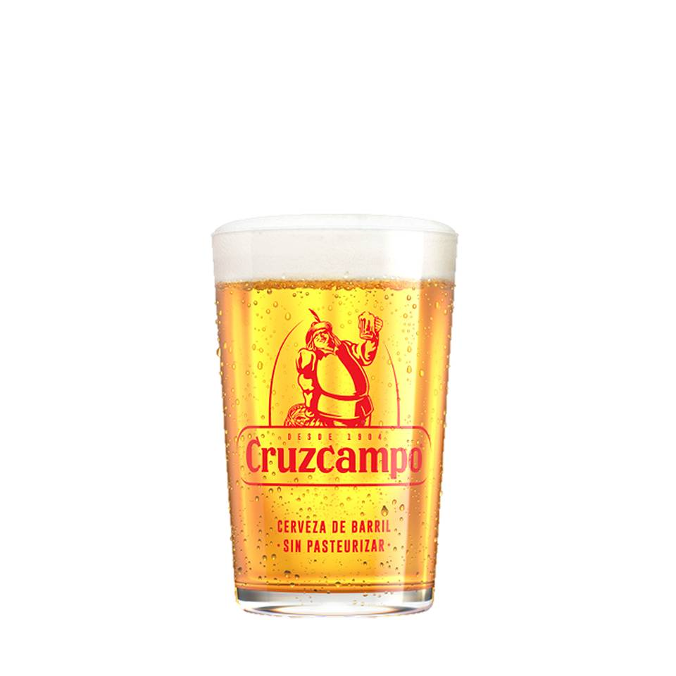 Cruzcampo glasses (6 PCS)