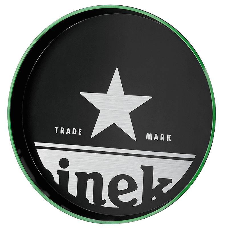 Heineken Waiter Tray Black