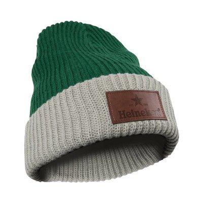 Heineken Beanie Green / Gray