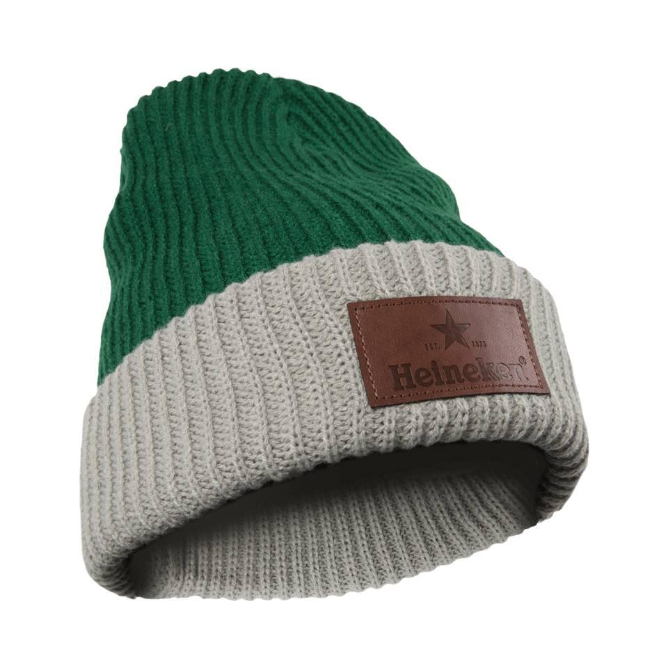 Heineken Beanie Green / Grey