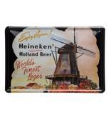Retro metal bar sign - Dutch Windmill (30 x 20cm)