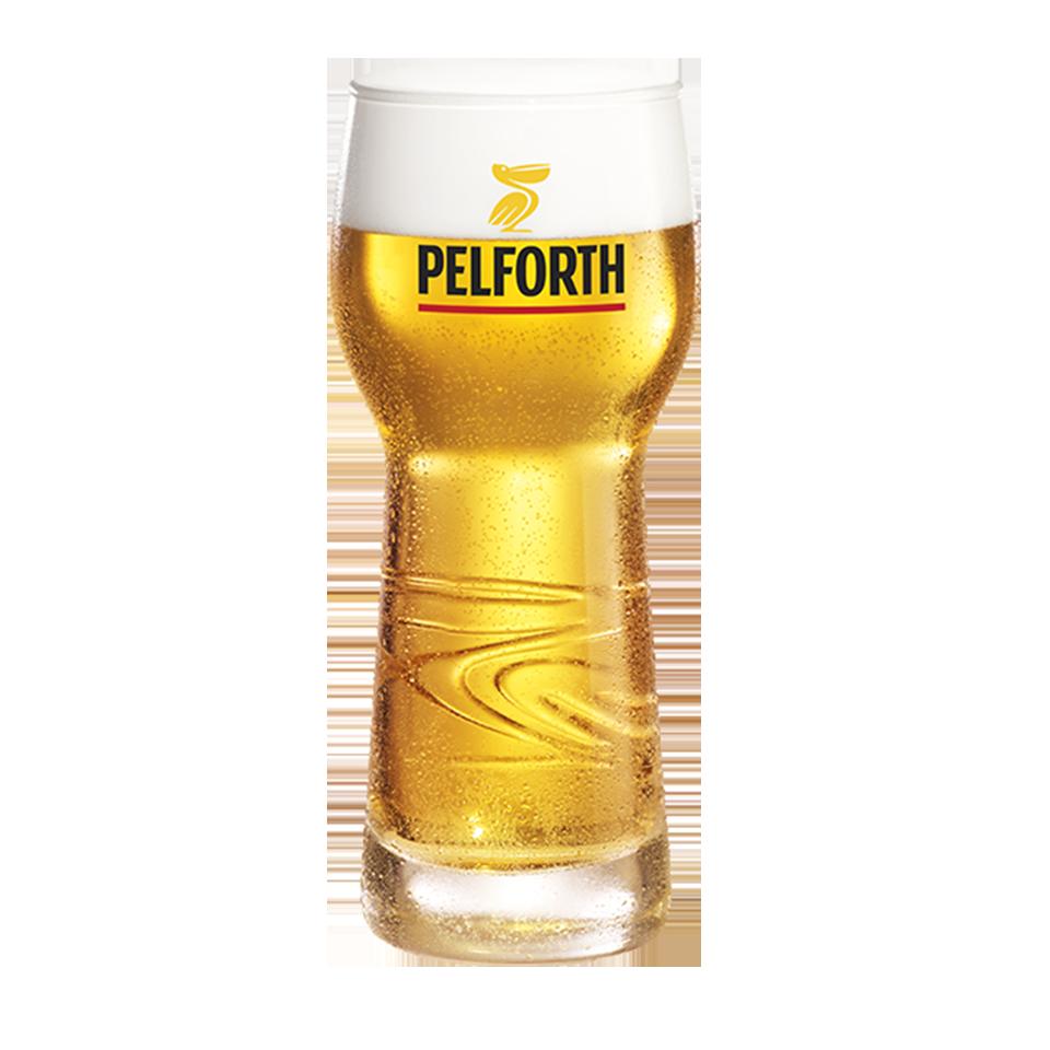 Pelforth glazen (6 stuks)