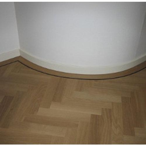 Basics4Home 16045 Flexibele Moderne plint 120/90/70x15 wit