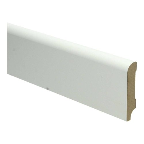 Basics4Home MDF Koloniale Plint 70/90/120x15x2400 Wit Voorgelakt RAL9010