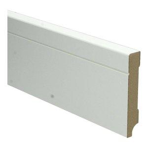 Basics4Home 15mm MDF Tijdloze Plint Wit Voorgelakt RAL9010