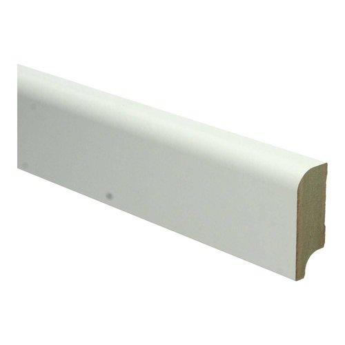 Basics4Home MDF Koloniale Plint 58x22x2400 Wit Voorgelakt RAL9010