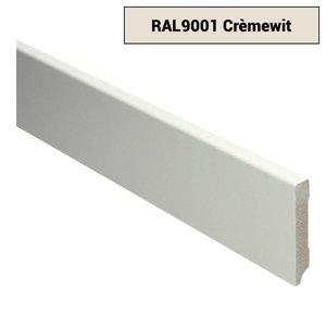 Basics4Home 12mm MDF Moderne Plint Voorgelakt RAL9001