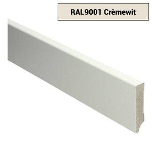 Basics4Home 15mm MDF Moderne Plint Voorgelakt RAL9001