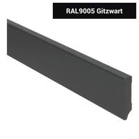 MDF Moderne Plint 70/90/120x15x2400 Voorgelakt RAL9005