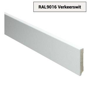 Basics4Home 12mm MDF Moderne Plint Voorgelakt RAL9016
