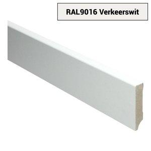 Basics4Home 15mm MDF Moderne Plint Voorgelakt RAL9016