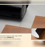 Basics4Home Suprime Ondervloer voor vloerverwarming & 10db Geluidsreducerend