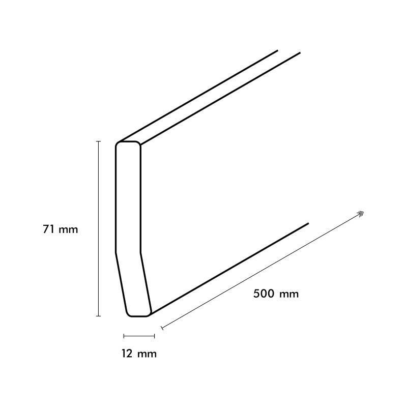 TRaprenovatie PVC Traptrede Beton