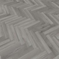 40828 Grey Sycamore MFLOR Parva Plus Dryback Visgraat PVC