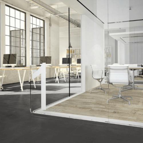 Tasba Floors RIGID 48992 Italiaans Steen Donker Rigid Click PVC