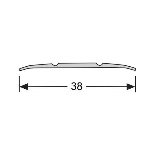 Basics4Home 40xxx Dilatatieprofiel zelfklevend 38 mm 2,0 M