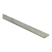 Plakplint 23157 Eik grijs met zaagsnede