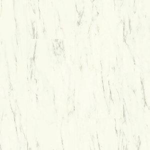 Quick-Step AVST40136 Carrara Marmer Wit Alpha Rigid Click