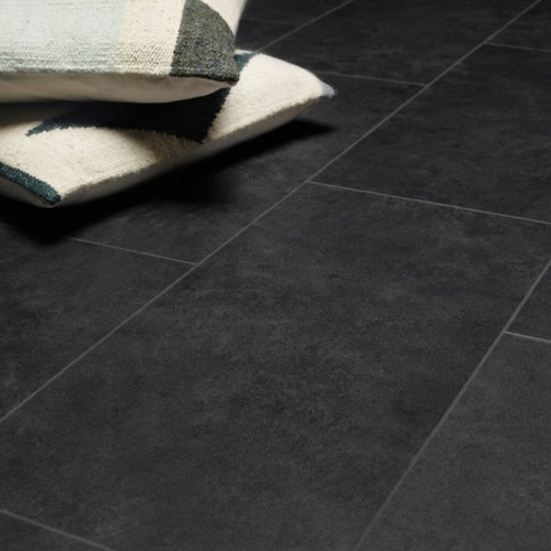 Tasba Floors RIGID 46972BT Koper zwart tegel Rigid Click PVC