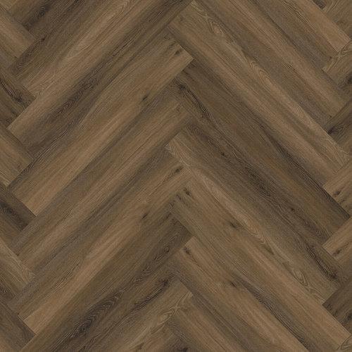 Floor Life 0119 Warm Brown Yup Visgraat Click PVC