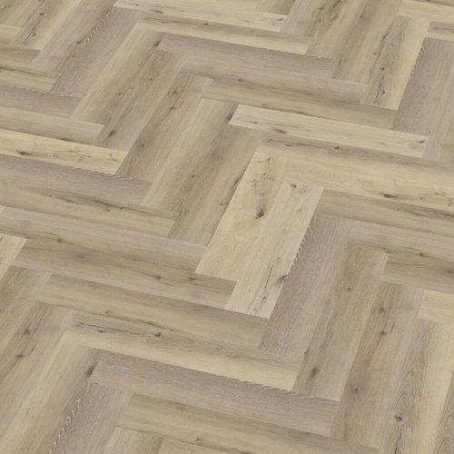 Floor Life 1119 Licht Eiken Yup Visgraat Click PVC