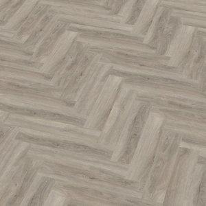 Floor Life 3319 Licht Grijs Yup Visgraat Dry Back PVC