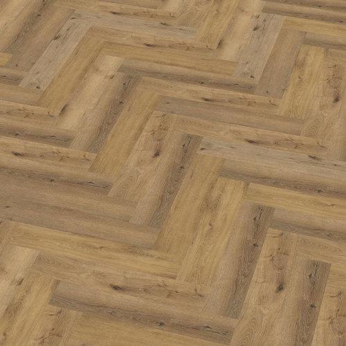 Floor Life 0419 Donker Eiken Yup Visgraat Dry Back PVC