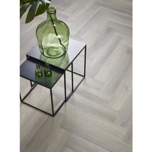 Floor Life 0519 Grijs Yup Visgraat Dry Back PVC