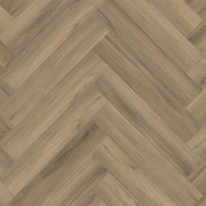 Floor Life 0219 Light Brown Yup Visgraat Dry Back PVC