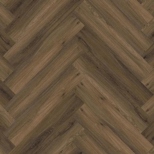 Floor Life 0119 Warm Brown Yup Visgraat Dry Back PVC