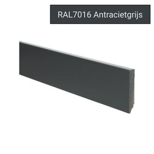 Basics4Home 12mm MDF Moderne Plint Voorgelakt RAL7016