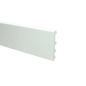 Basics4Home 12mm Flexibele Moderne plint wit