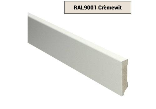 RAL9001 MDF Plinten Crèmewit