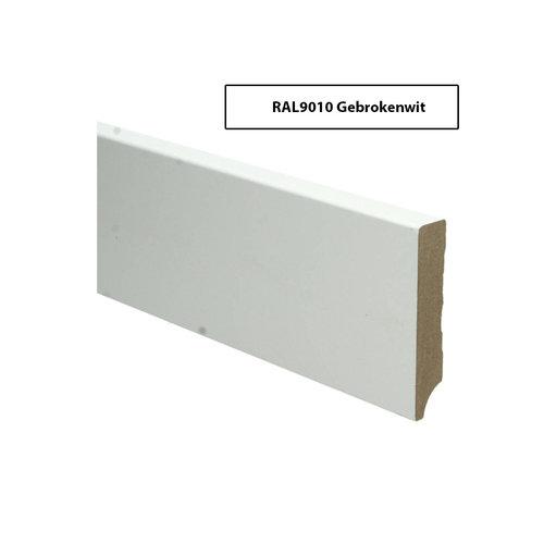 RAL9010 MDF Plinten Gebrokenwit