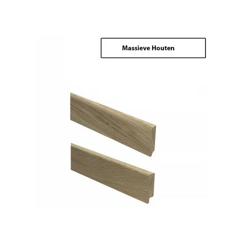 Massieve Houten Hoge Plinten