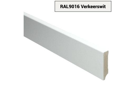 RAL9016 MDF Plinten Verkeerswit