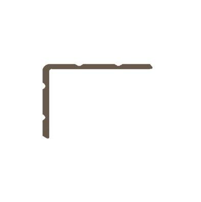 Basics4Home Duo-Hoeklijnprofiel zelfklevend 24,5-30 mm 1,0 M