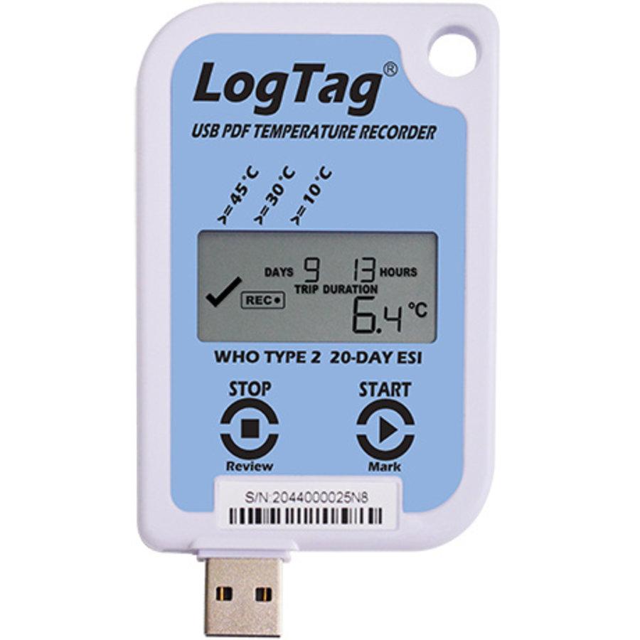 LogTag USRID-16W2 temperatuurrecorder voor vaccins