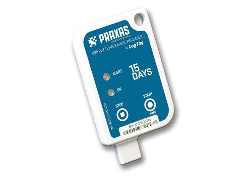 Praxas Usric-8 15D temperatuurrecorder