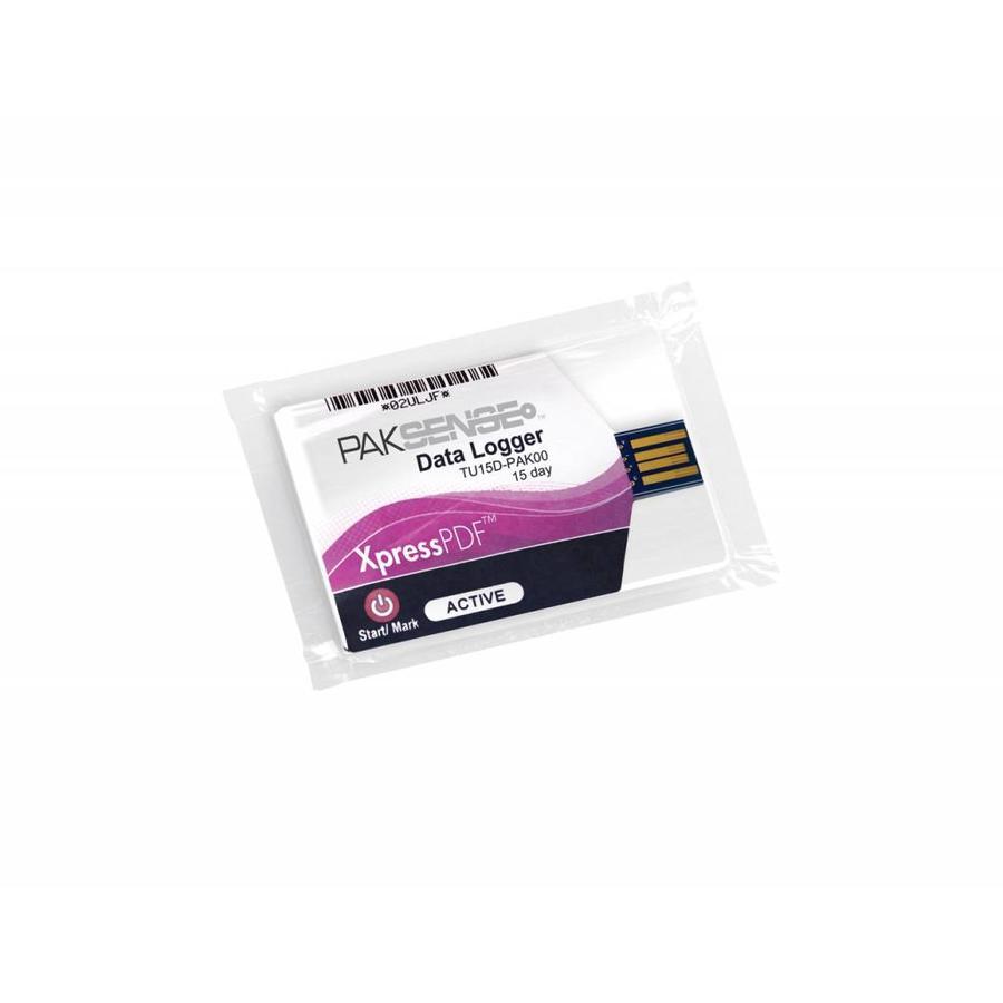 PakSense XpressPDF 6D temperature recorder