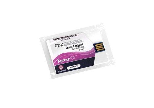 PakSense XpressPDF 30D temperature recorder