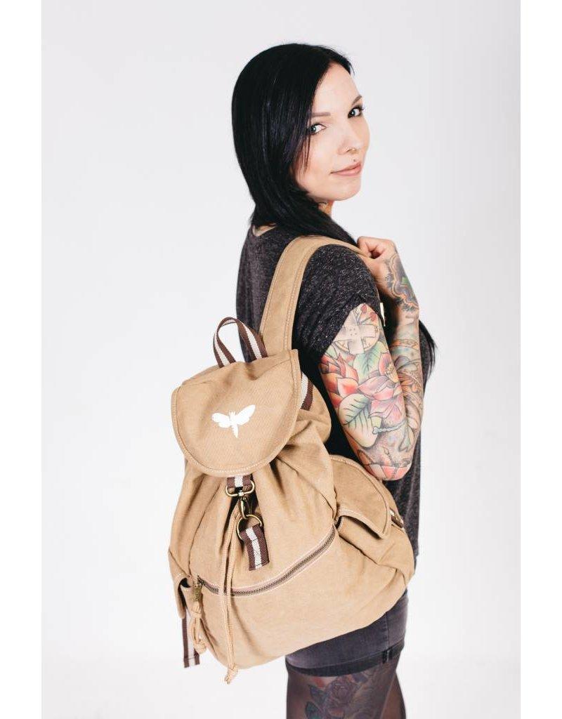 Motten Vintage  Backpack - beige