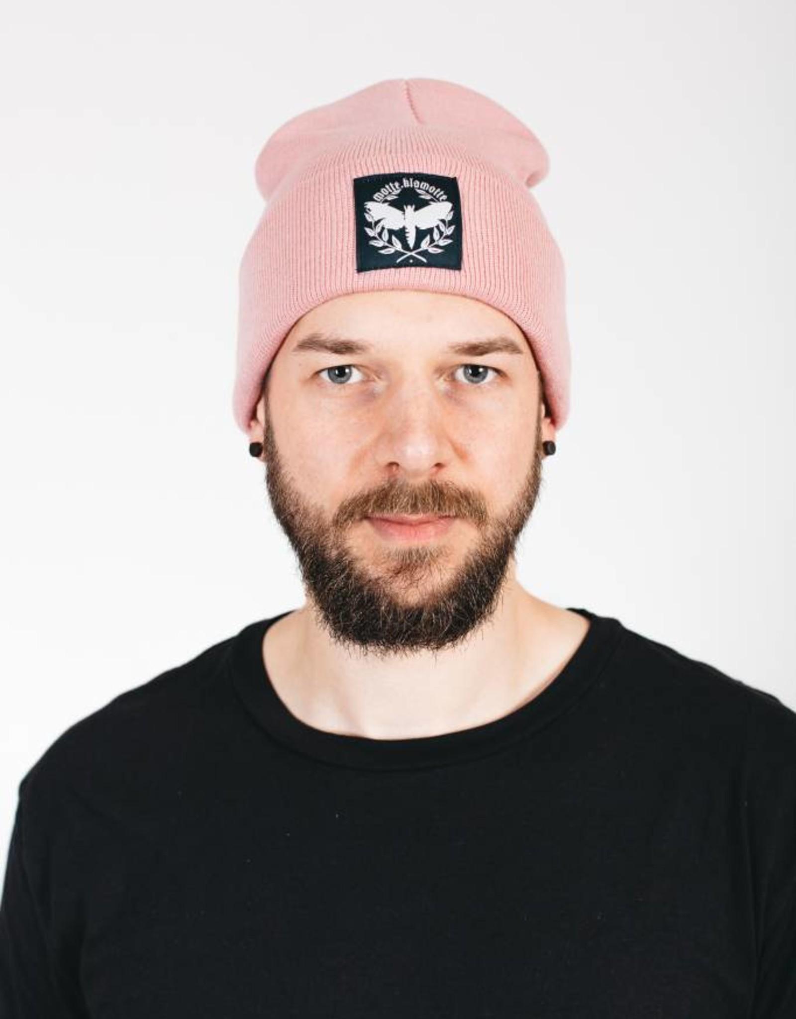 Motten Beanie - rosa