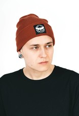 Motte Beanie rusty red