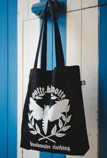Motte Logo Beutel - schwarz