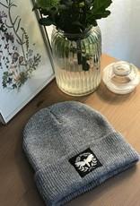 Motte Beanie light grey