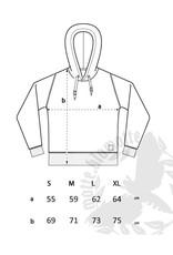 Unisex Strick- Hoodie -anthrazit