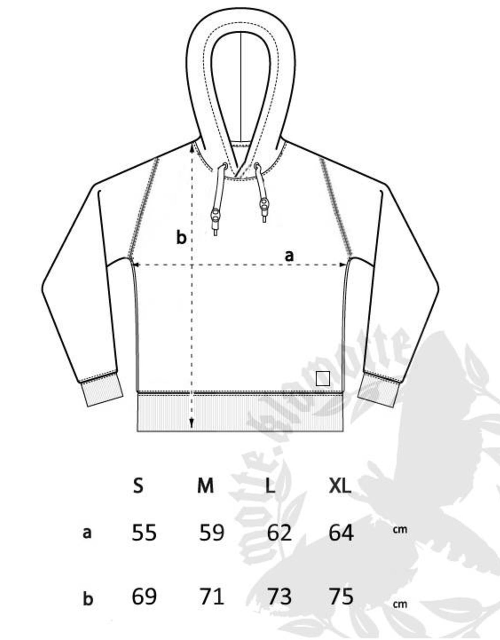 Strick- Hoodie -anthrazit